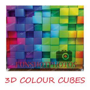 3d colour cubes