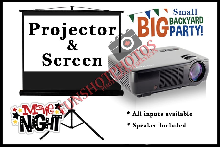 Projector & Screen